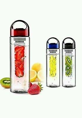 Fruit Fuzer Infusing Infuser Water Bottle Sports Detox Health Juice Maker Bottle