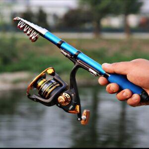 Travel-Super-Short-Telescopic-Portable-Fishing-Rod-Sea-Retractable-Folding-Poles