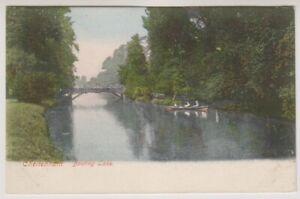 Gloucestershire-Tarjeta-Postal-Cheltenham-Navegable-Lago-A489