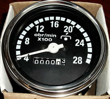 Mechanical Tachometer 85 Mm Size With M18x15 Thread Connection 2800 Rpm