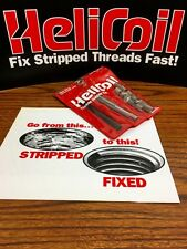 Heli Coil Thread Repair Kit 38 16 Unc With 12 Stainless Steel Inserts