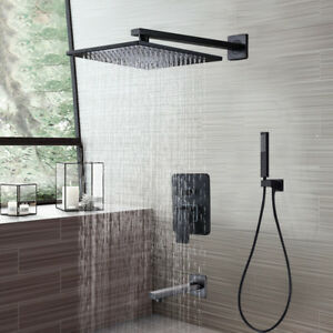 Image Is Loading 8 034 Oil Rubbed Bronze Bath Rain Shower