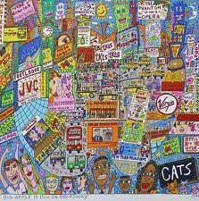 """James Rizzi  """" THE BIG APPLE IS BIG ON BROADWAY"""" 2-D Pop Art 1999 flat print"""