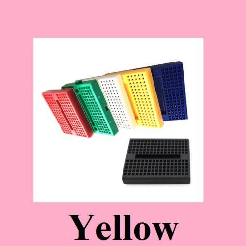 Syb-170 Mini Bread Board Yellow Color Ic New Develop