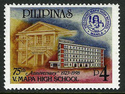 Mi 2881 Careful Philippinen 2524 Postfrisch Victorino Mapa High School 75te Jubiläum