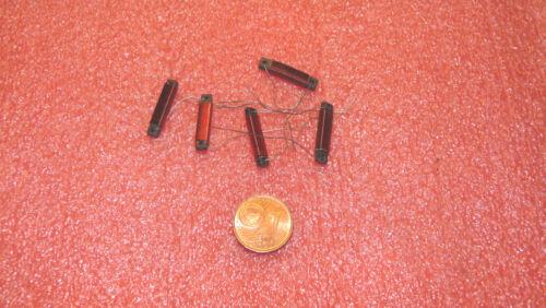 Ferrit 18x3x1,5 mm 5 Stück Entstör Drossel 0,2 µH NOS-Neu