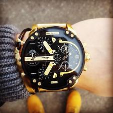 Diesel DZ7333 Mr. Daddy 2.0 Multi-Time Zone Wrist Watch for Men - Gold