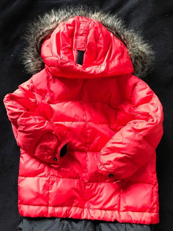 Vintersæt, Vinterjakke og bukser, Poivre blanc