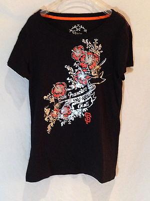 Weitere Ballsportarten Sport Sporting San Francisco Giants Damen T-shirt-medium-mlb Gear 4 Her-world Serie Champions