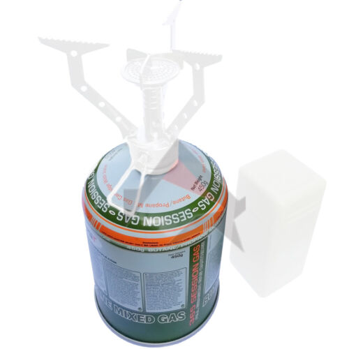 Web-tex Warrior Compact Poêle Camping Pêche Randonnée 420 G Gas Canister-Options
