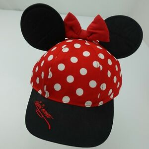 Minnie Mouse Ears Baseball Cap Snapback Youth Hat Disney