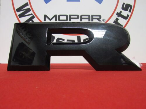 DODGE RAM Brilliant Black Crystal Pearl Tailgate R A M Letter Nameplates MOPAR