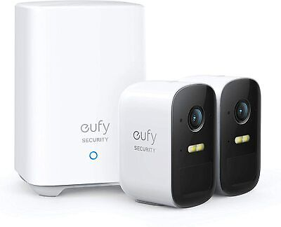 eufy Security, eufyCam 2C Wireless Home Security Camera System, Brand New Sealed