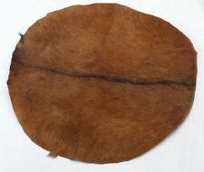 "16"" Goat Skin Djembe Drum Head with Fur natural/Bonga Drum Head Skins/Bombo Drum"
