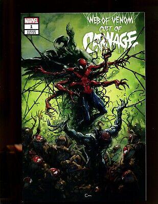Web of Venom Cult of Carnage #1 B Joshua Cassara Variant NM