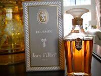 Vintage Ecusson By Jean D'albret 1 Oz Perfume / Parfum, Sealed Bottle In Box