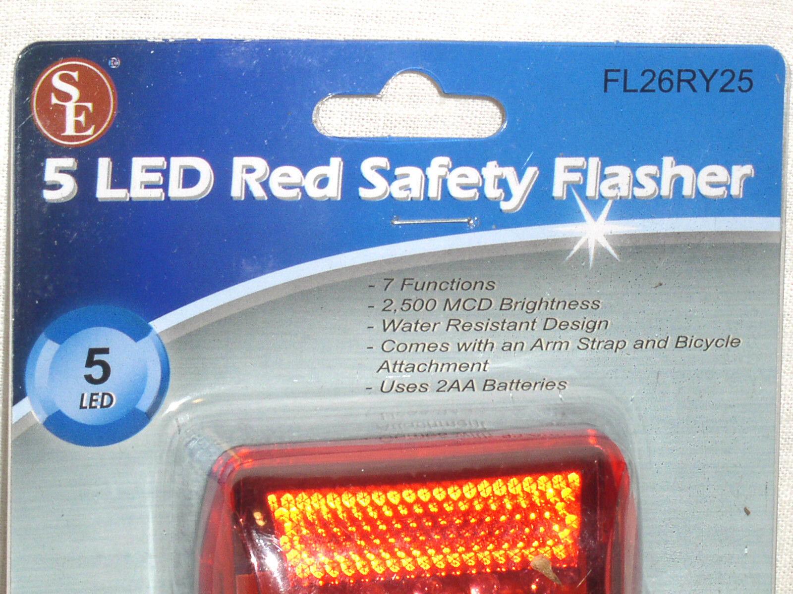 front USB led mini bright lights flash bike UK rear 5 led triangle light set