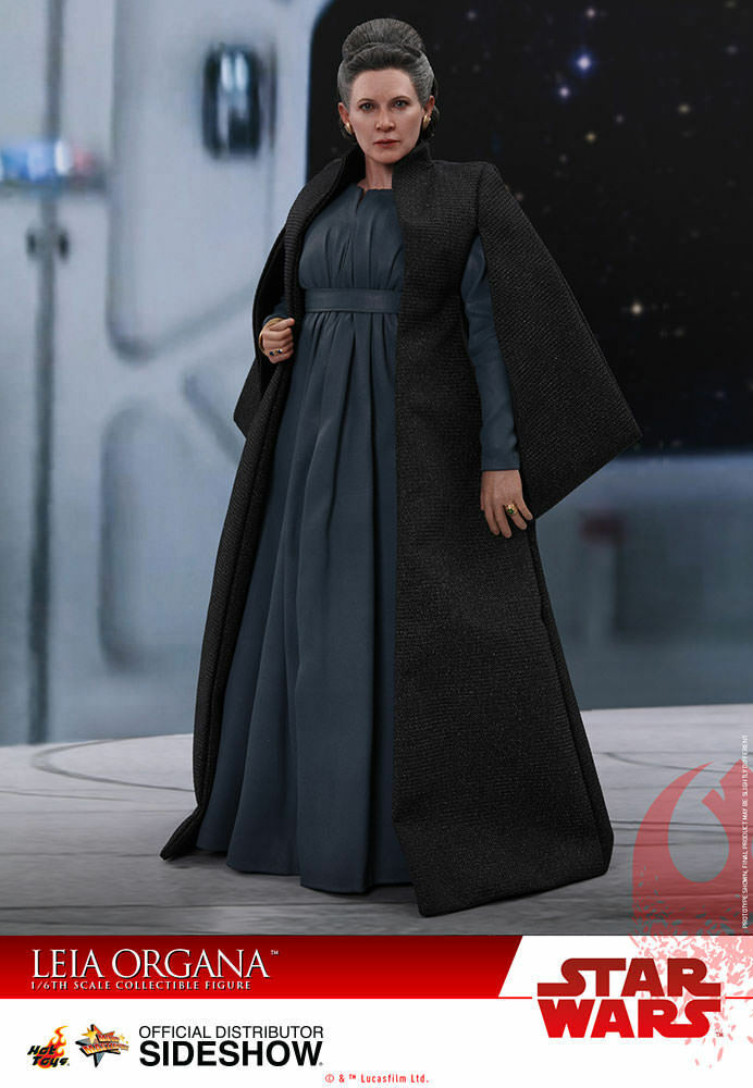 HOT TOYS Leia Organa Star Wars 8 1 6 Scale Figure Comme neuf NEW IN BOX