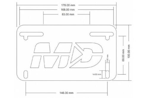 Yamaha MT09 MT-09 Fender Eliminator FZ-09 FZ09 2017-2020 With Axle Block