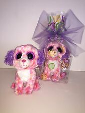 TY LONDON DOG BEANIE BOOS IN CELLO, NEW,MINT TAG-LOVES TO PLAY & COLOR