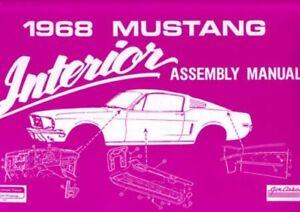 1968 Oldsmobile Cutlass Assembly Manual Rebuild Book Instructions Illustrations