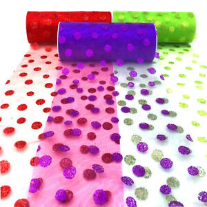 6-034-x10yd-Organza-Roll-Glitter-Dot-Tulle-Fabric-Wedding-Party-Wrap-Decor-12-Colors