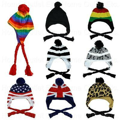 CHULLO SKI CAP WITH EAR FLAPS