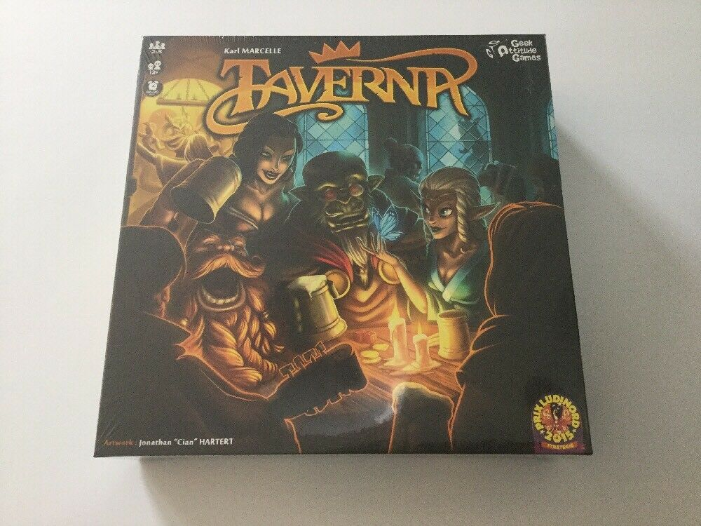 Taverna Board Game Sealed and Brand New Geek Attitude Games