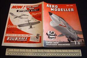 Vintage-Aeromodeller-Magazine-July-1959-Fox-15-Glow-Motor-AM-0-49-Advert