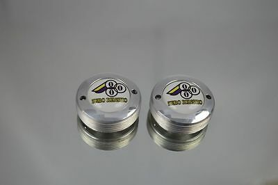 dust caps with Zero Rensho logo fit shimano campagnolo ofmega suntour crankset