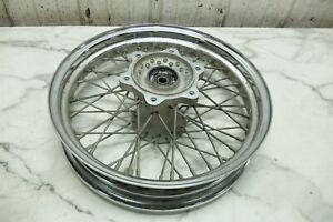 05 Suzuki VL 800 VL800 C50 Boulevard front wheel rim straight