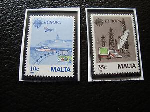 Malta-Stamp-Yvert-and-Tellier-N-773-774-N-A22-Stamp-Malta