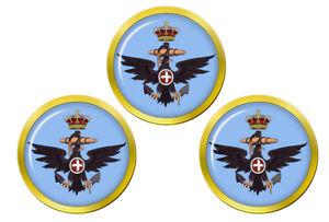 Royal-Italien-Marine-Regia-Marina-Marqueurs-de-Balles-de-Golf