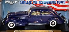 Cadillac V16 Aerodynamic Coupe 1934 blau blue 1:18 Ricko