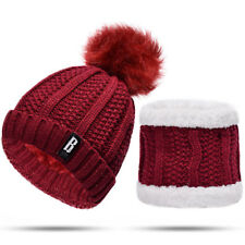 c0d12e5dd5a item 4 Snow Beanie PomPom Hat Women Thick Warm Soft Cable Scarf Winter Knit  Skull Cap -Snow Beanie PomPom Hat Women Thick Warm Soft Cable Scarf Winter  Knit ...