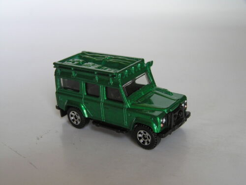 MATCHBOX 2006 #55 '97 LAND ROVER DEFENDER 110 METALLIC GREEN RARE MINT LOOSE