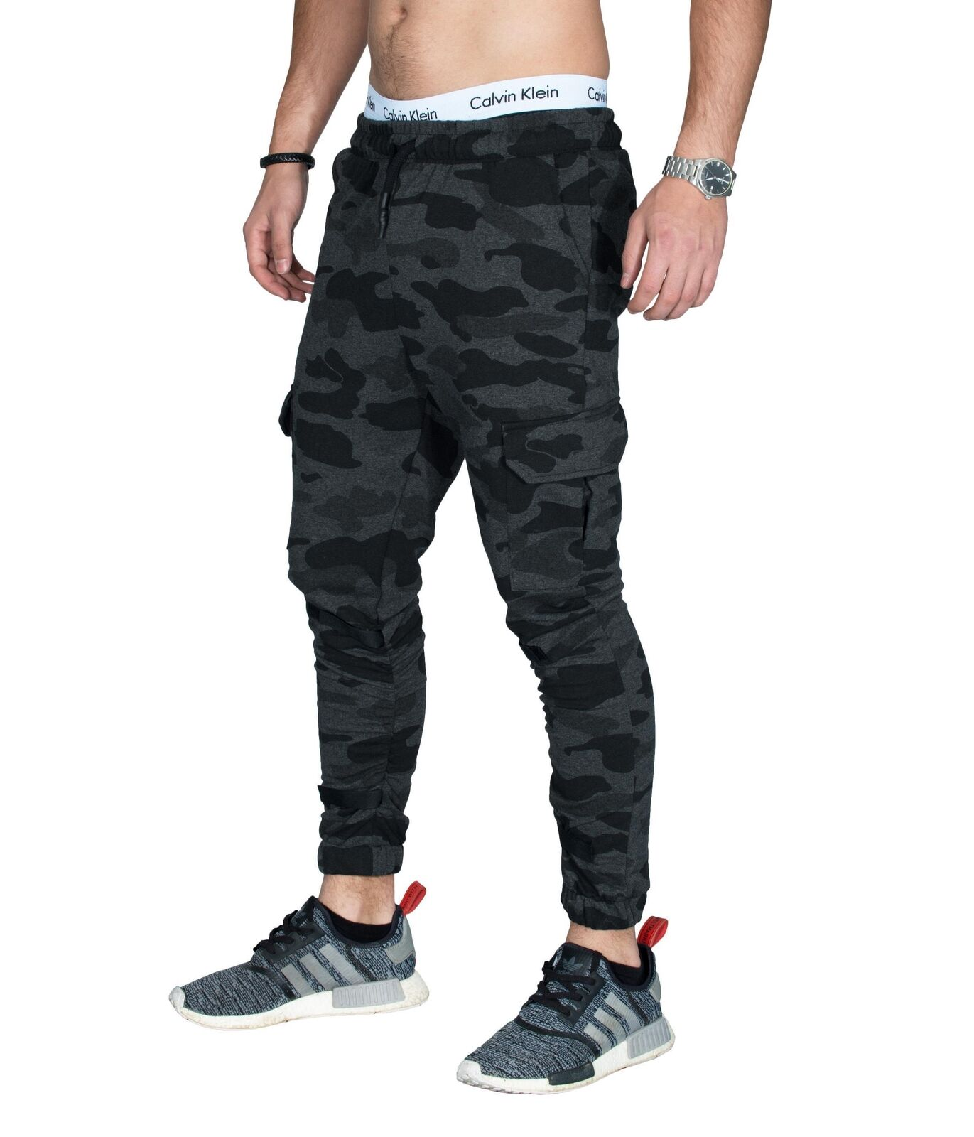 BetterStylz MartyBZ Cargo Jogginghose Slim Fit Sweatpants Jogger Fitness S-XL