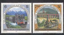 Austria 1997 Steam Engines/Trains/Transport/Rail/Railways/Locomtives 2v (n32977)
