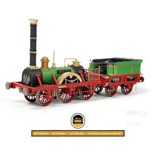 Occre Adler Steam Train Locomotive 1 24 Scale Wood & Metal Model Kit 54001