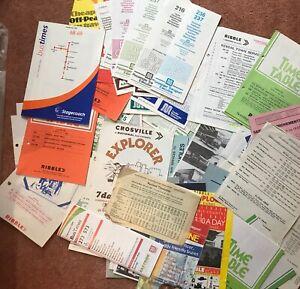 100-x-North-West-amp-North-England-Timetable-Handbills