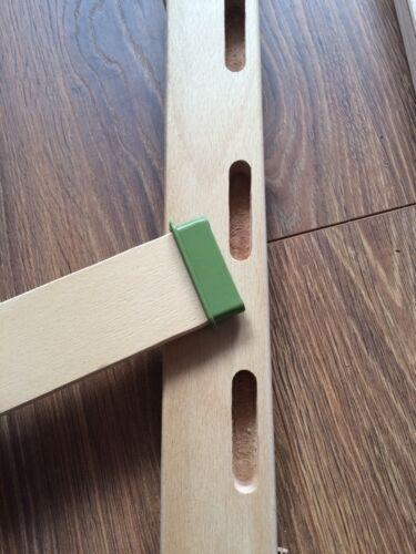 Slatted Bed Base Beech Wood Kingsize 5ft x 6ft6 Orthopedic Easy assemble Slats