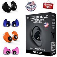 Custom Molded Ear Plugs Comfortable Hearing Protection For Shooting Travel Sleep