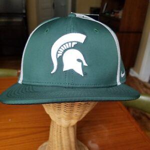 Nike Michigan State Spartans True Adj Snapback Nee NWT hat cap MSU ... dd84588e3349
