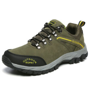 1c839cc111c Details about Men's Hiking Shoes Outdoor Trail Trekking Sneakers Breathable  Climbing Sneakers
