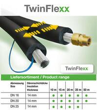 Solar Edelstahlwellrohr Solarleitung TwinFlexx DN 20 x 20 mm Isolierung 10 meter