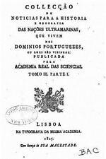 Collecçao de Noticias para a Historia e Geografia das Nações Ultramarinas by...