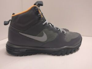 Dual 001 Boot Hills Fusion Mid nero Grey 8 Dark 695784 Nike Leather Uk Trail dqOPdwF
