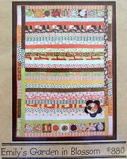 """Cotton Way  """"Emily's Garden in Blossom"""" Quilt Pattern - Olaveson  2007 UNCUT"""