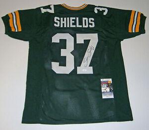 PACKERS Sam Shields signed custom green jersey w/ #37 JSA COA AUTO ...