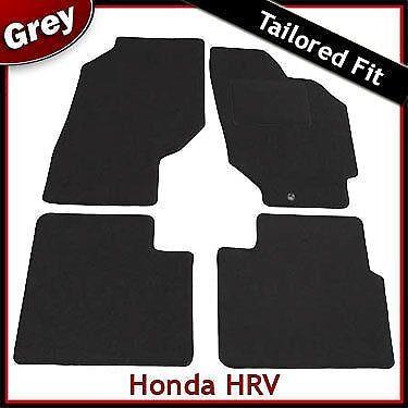 Honda HR-V 5-portes Mk1 1998-2006 Tapis de voiture Tapis de sol gris